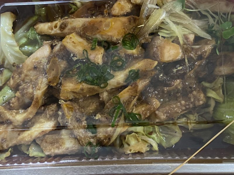 田中トリオ イカと春キャベツのゴロ焼き